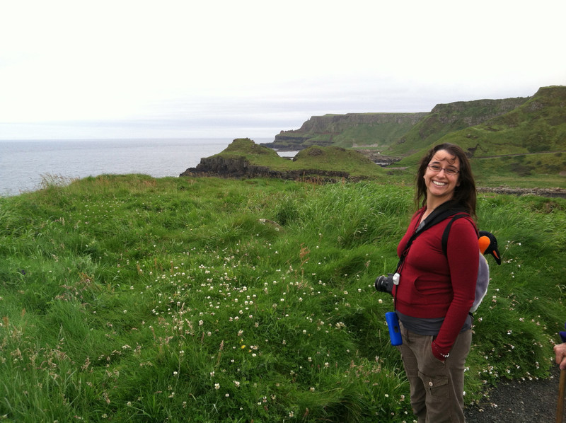 8 July 2012: We were on these cliffs and it really felt like if you sneezed you'd just fall down down down.