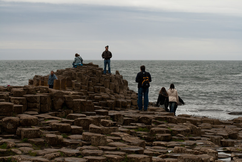 8 July 2012: The Giant's Causeway. I swear these rocks inspired the Q-Bert game.