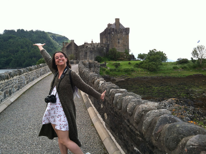 6 July 2012: It's the most photographed castle in scotland.