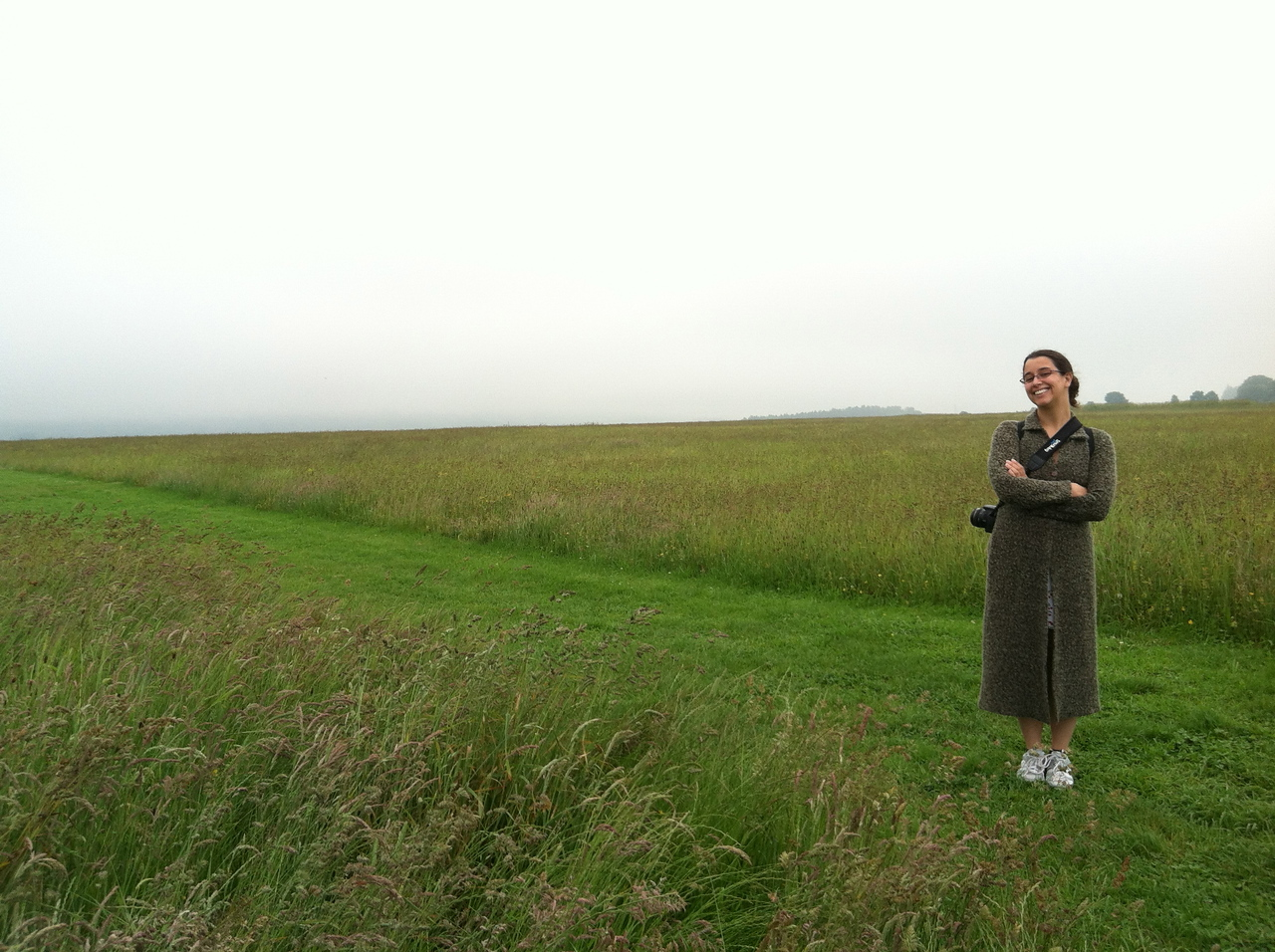 6 July 2012: Here we are at the battlefield.