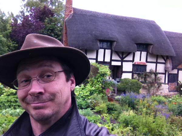 2 July 2012: Patrick doing the self portrait!