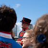 30 June 2012: Our guide at the Tower of London.