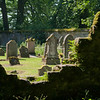 5 July 2012: A view of the cemetery at Scone Palace.