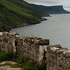 8 July 2012: Driving along the Northern Irish coastline from Larne to The Giant's Causeway.