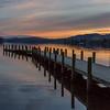 Sunset - Coniston jetty