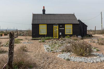 Derek Jarman (1942-1994) originated the shingle and sculpture garden at Prospect Cottage