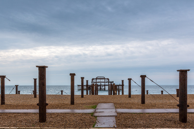 Remains of West Pier (1866)