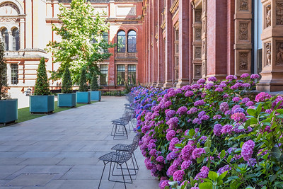 V&A central courtyard