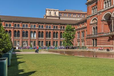 V&A central courtyard