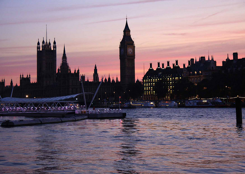 Evening on the Thames