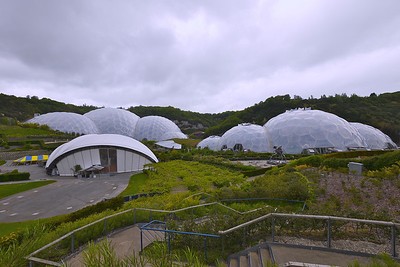 Eden Domes, Cornwall.