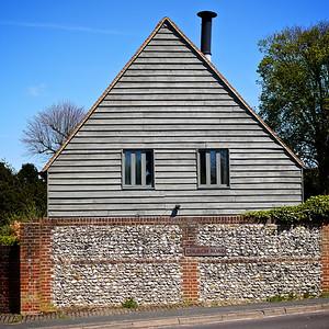 Clapboarding on a Cottage King's Somborne