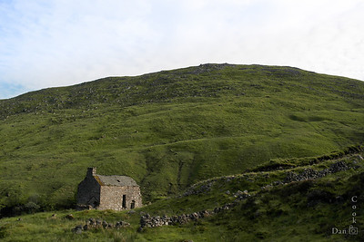 Abandonded hunting lodge in Spittal of Glenshee in North Scotland