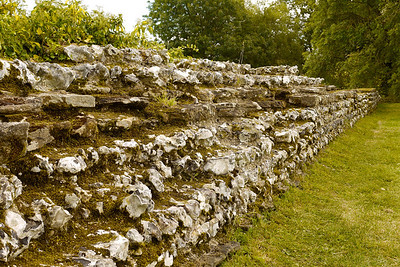Roman Walls at Silchester (1700 years old)