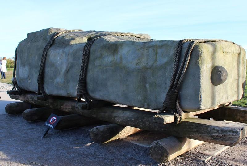 Stonehenge - stone recreation
