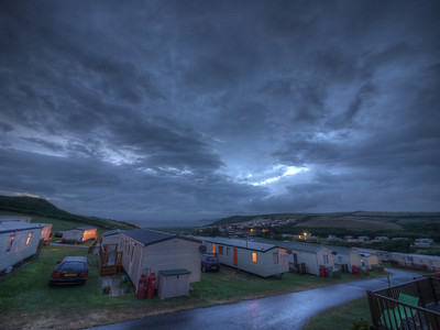 Bed Time at Newgale