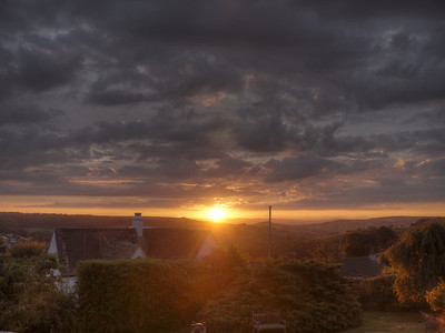 Sunset from Amberley