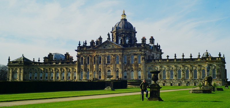 Castle Howard - of 'Brideshead Revisited' fame