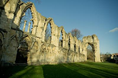 ruins,York