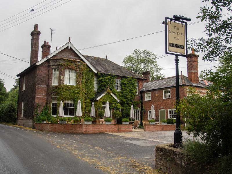 King John's Inn for two nights