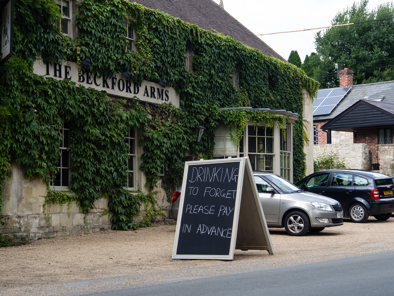 Pub on the way to the Compasses Inn