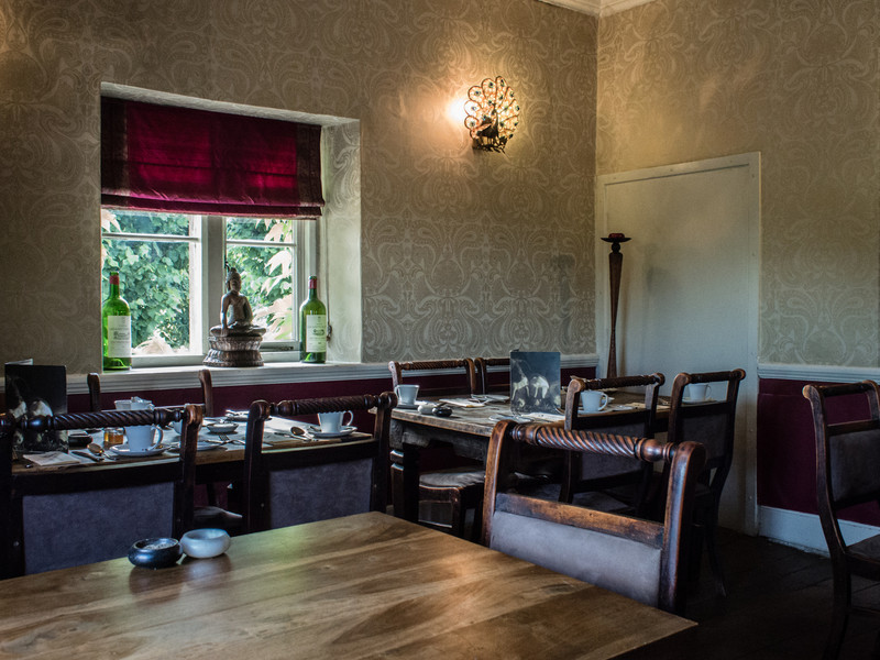 Breakfast room at the Bath Arms