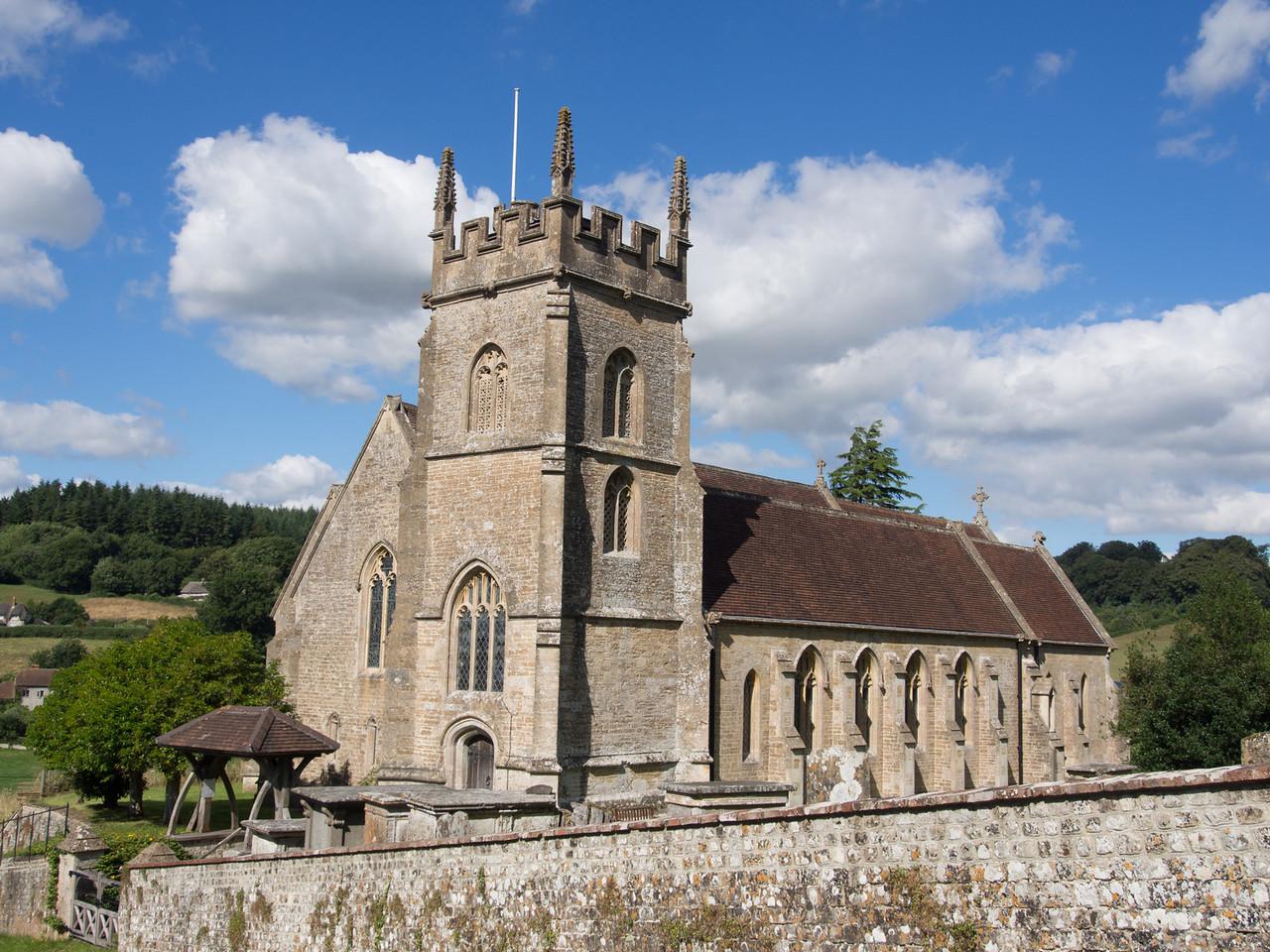 Church near Longleet