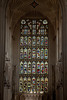 Stained Glass window in Bath Abbey