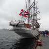 Norwegian sail training ship Christian Radich in Stavanger
