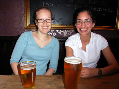 Kate, is that beer as big as you are?