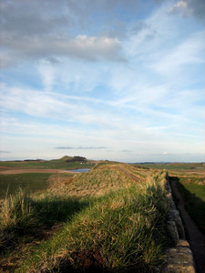 nature launches the final attack on Hadrian's wall