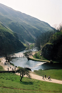 Dovedale. Doesn't it look idyllic?