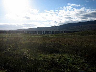 Ribblehead Viaduct, as featured in Harry Potter and the Half Blood Prince (movie)