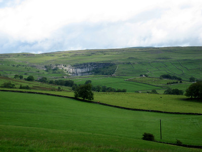 Malham Cove from a distance