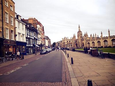 UK travels: Lauren's Cambridge to Sussex 2013