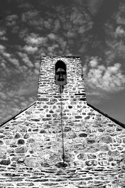 Bell tower -  St Hywyn's Church, Aberdaron