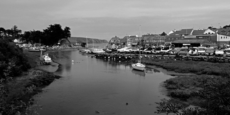 Abersoch Harbour Inlet