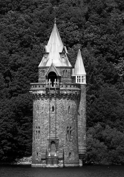 Sifting Tower - Lake Vyrnwy