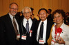 Peter with the former ISCoS president Prof Ikata, our conference President Prof Suyama