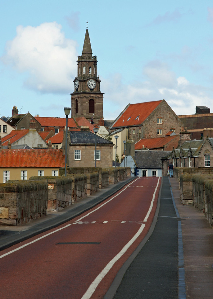 The road to Berwick