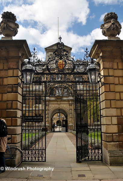 106 Trinity Lane Entrance to Clare College
