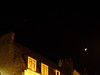 Moon and friend above Cambridge.