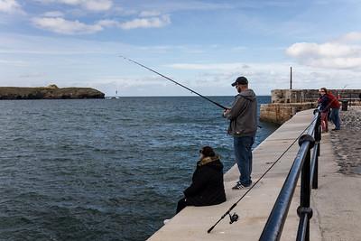 Fishing At Mullion Cove
