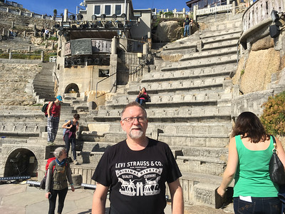 MJ At The Minack Theatre