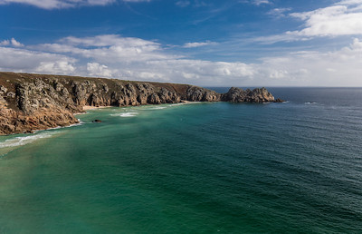Cliffs Near Porthcurno