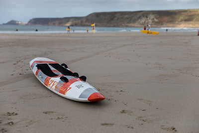Surfboards At Sennen Cove