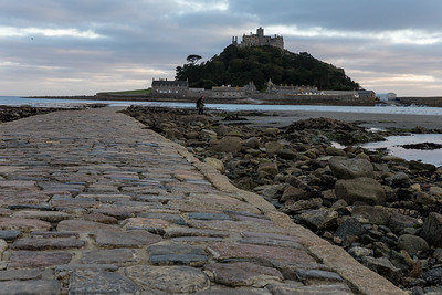 The Stone Causeway To St. Michael's Mount