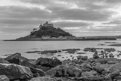 St. Michael's Mount At Sunset