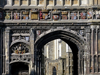 Gateway to Canterbury Cathedral