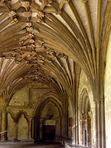 The cloister of Canterbury Cathedral